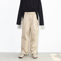 INDIGO CHILDREN(インディゴチルドレン) パンツ ◇INDIGO CHILDREN◇17ss  WIDE TURNUP PANTS (Light Beige)