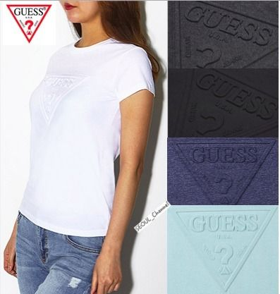 Events in GUESS logo T shirt