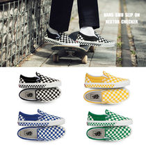 VANS★SMU SLIP ON★NEXTOR CHECKER★チェック柄★22~28cm★4色