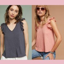 【Anthropologie】新作★ラッフル袖トップスRuffled Lace