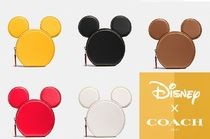 ★Disney X COACH★限定コラボ【COIN CASE WITH MICKEY EARS】
