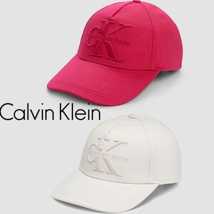 Limited SALE Calvin Klein pink off white cap