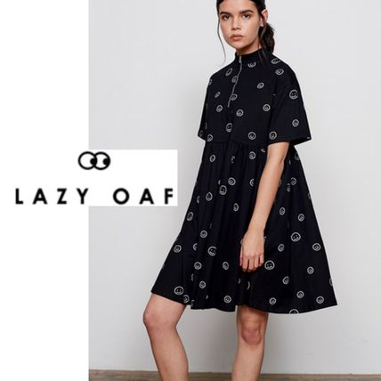 UK発*Lazy Oaf*国内発送(追跡有)*送関込*にこちゃんワンピ