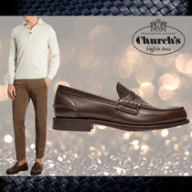新作【CHURCH'S】チャーチ★Pembrey leather loafersローファー