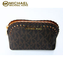 特価!Michael kors  最新品 VIOLET CINDY TRAVEL ポーチ