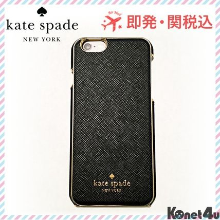 Classy Saffiano leather Kate spade iPhone6/6 s case