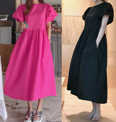 If you go on a trip long loose fitting dress 2 colors