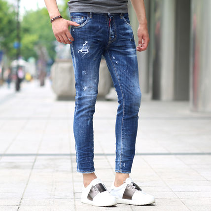 17 AW 18AW DSQUARED2 dsquared skater jeans