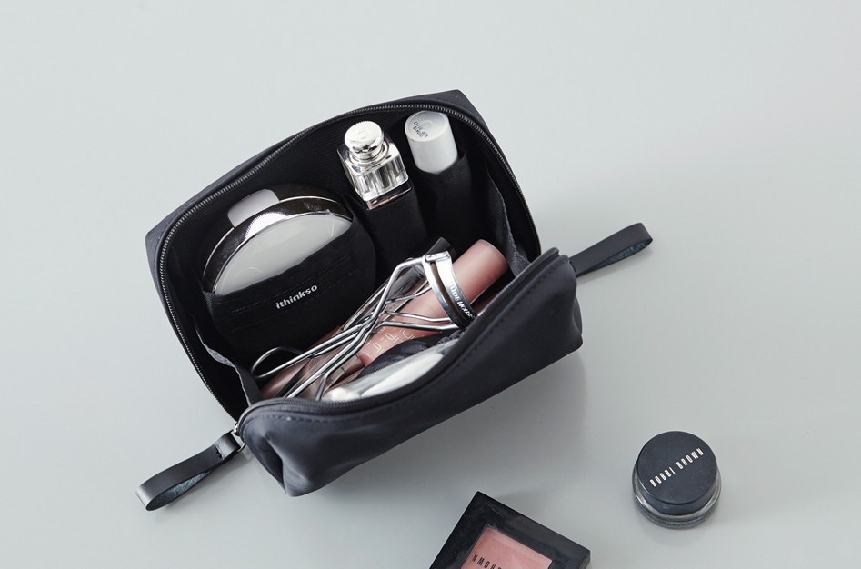 ☆ITHINKSO☆BELL MAKE-UP POUCH 5色