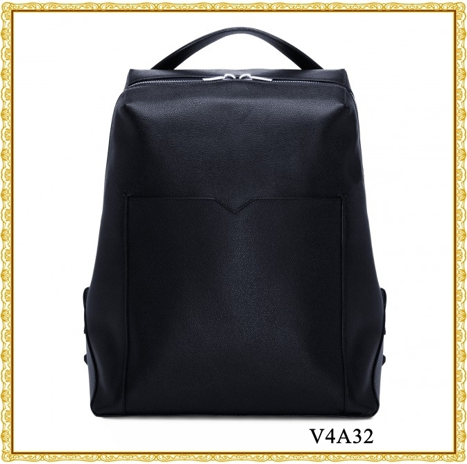 ★VALEXTRA★V LINE BACKPACK バックパック 紺色 V4A32