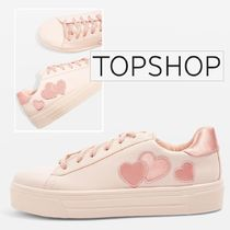 【TOPSHOP】CANDY☆ハートフラットフォームシューズ
