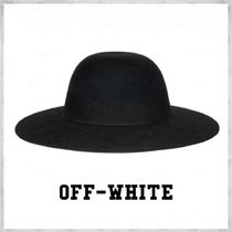 Off-White(オフホワイト) ハット 国内発送☆関税負担なし OFF-WHITE 帽子