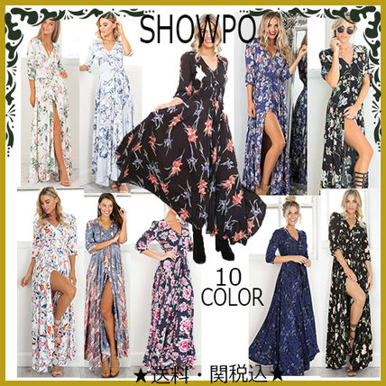 Try SHOWPO front button Maxi dress