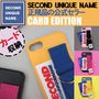 SECOND UNIQUE NAME スマホケース・テックアクセサリー 【NEW】「SECOND UNIQUE NAME」 CARD EDITION 正規品