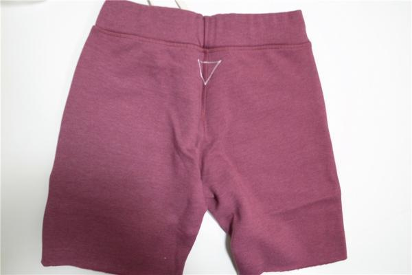RHCRonHerman Puffy Shorts burgundy M