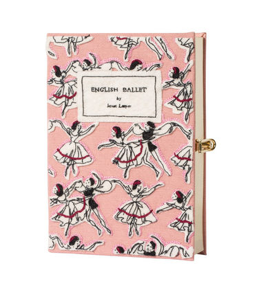 Sale Olympia Le-Tan English Ballet Book Clutch