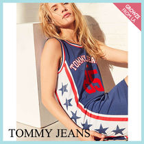 【Tommy Jeans】新色登場☆トミー ロゴ スポーツ Tシャツワンピ
