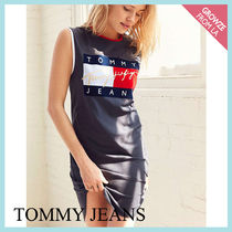 【Tommy Jeans】新色登場☆トミー 90s ロゴTシャツ ワンピ―ス