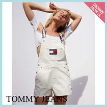 【Tommy Jeans】新色登場☆トミー 90s ロゴ サロペット