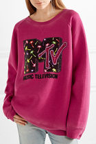 MARC JACOBS(マークジェイコブス) スウェット・トレーナー MARC JACOBS Oversized sequin-embellished jersey トップス
