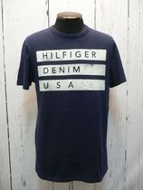 TOMMY HILFIGER トミヒル トミー プリントTシャツ 正規 (8263)