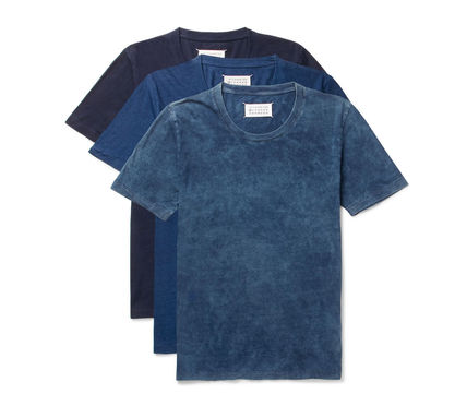 Mesommelgera 17 SS 3 Pack T shirts set Navy