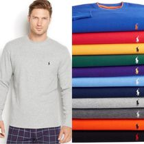 Ralph Lauren(ラルフローレン) ルームウェア・パジャマ Men's Solid Waffle-Knit Crew-Neck Thermal Top