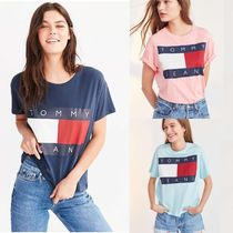 【Tommy Hilfiger☆送関込】ロゴプリント Tシャツ/3color