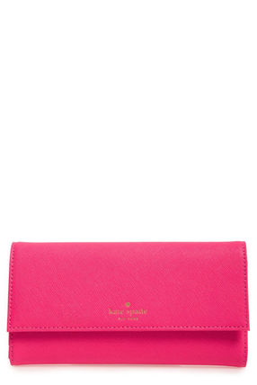 kate spade new york スマホケース・テックアクセサリー SALE完売間近☆kate spade new york☆leather iPhone 7 wallet(2)