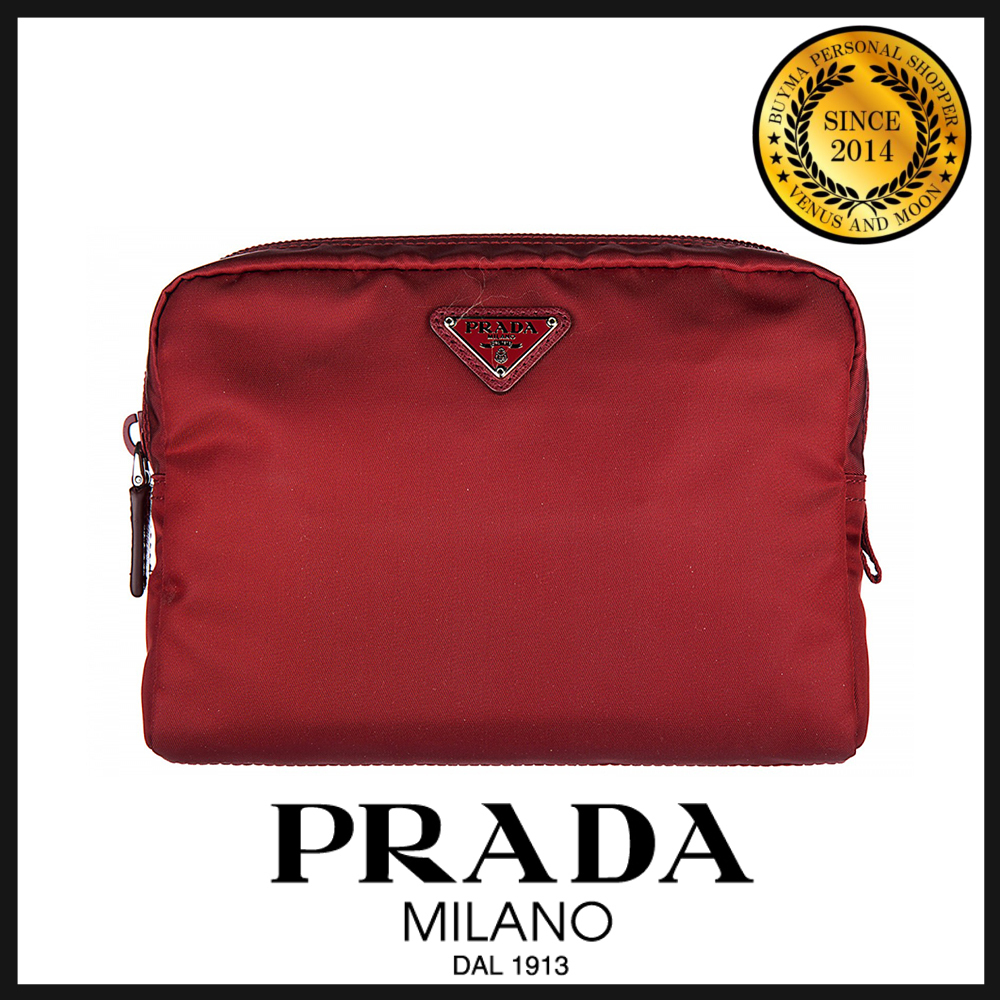 PRADA プラダ makeup beauty case ポーチ 1N0348