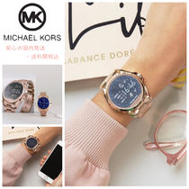 Michael Kors MKT5004 Access Rose Gold Bradshaw Smart Watch♪