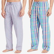 Ralph Lauren(ラルフローレン) ルームウェア・パジャマ Men's Blue and Green Check Woven Pajama Pants