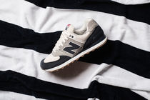 【送料無料】NEW BALANCE ML574RSC TERRY CLOTH - NAVY/SILVER