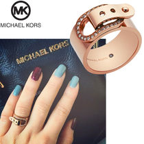 【 Michael Kors マイケルコース 】Cityscape Pave Buckle Ring