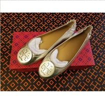 セール!Tory Burch★ MINNIE TRAVEL BALLET FLAT WITH LOGO