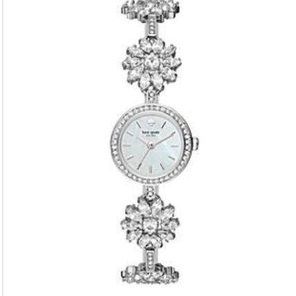 kate spade new york アナログ腕時計 数量限定セール! kate spade daisy crystal bracelet watch(2)
