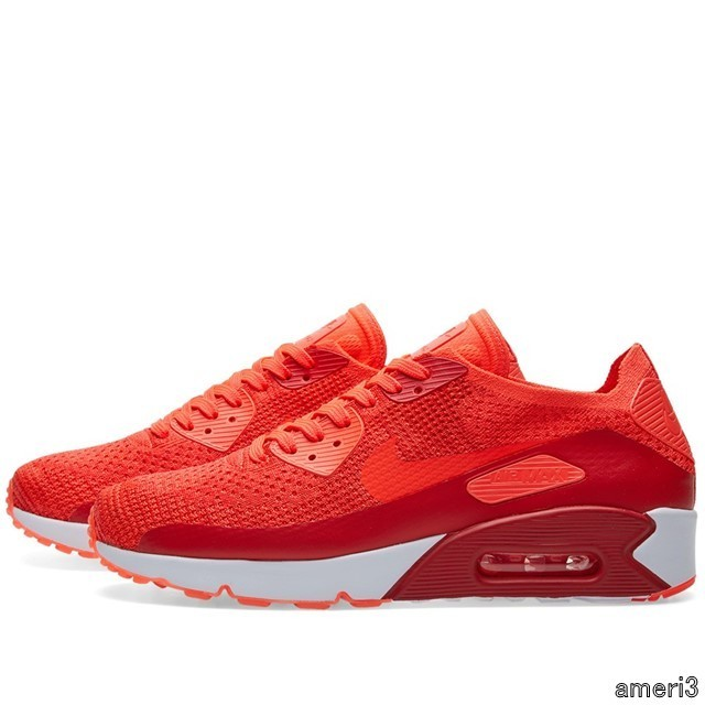 NIKE AIR MAX 90 ULTRA 2.0 FLYKNIT 875943-600