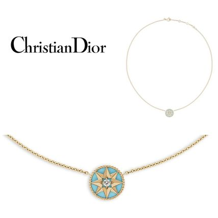 Boutique limited edition Christian Dior necklaces yellow