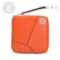 LOEWE★ロエベ Puzzle Small Wallet Coral