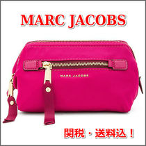 MARC JACOBS(マークジェイコブス) メイクポーチ 関税送料込!MARC JACOBS メイクポーチ ナイロン