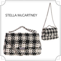 関税込☆woven Alter nappa small bag/白・黒/Stella McCartney