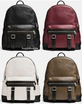 Coach(コーチ) ショルダーバッグ 【Coach】追跡付き Flag Backpack in Pebble Leather