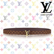 2017SS《Louis Vuitton》LV INITIALES 25 MM★ダミエ レディース