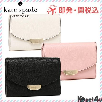 compact & storage-Kate spade bifold wallet callie mulberry