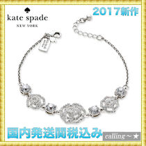 セレブ愛用者多数☆kate spade new york☆Crystal Link Bracelet
