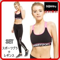 Superdry(極度乾燥しなさい) セットアップ Superdry Core Full Zip Hoody セットアップ ジムウェア