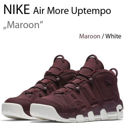 NIKE AIR MORE UPTEMPO 96 QS Maroon モアテン アップテンポ