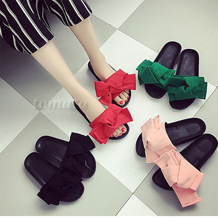 Big Ribbon shower Sandals slippers