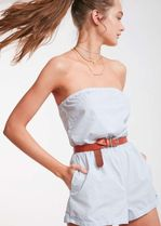 Urban Outfitters(アーバンアウトフィッターズ) セットアップ Kimchi Blue Palm Beach Strapless Romper