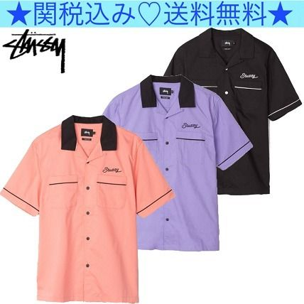 STUSSY unique majority to recommend Laguna bowling shirt
